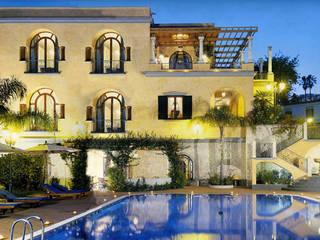 Villa a Posillipo Venezia Tre Case in stile mediterraneo
