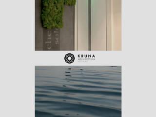 Collina sul mare: Spa in stile in stile Moderno di KRUNA - Architettura Restauro