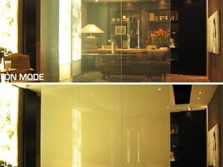 Vidrios de privacidad Casas de estilo ecléctico