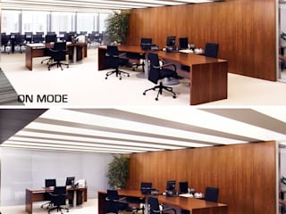 Vidrios de privacidad Edificios de oficinas