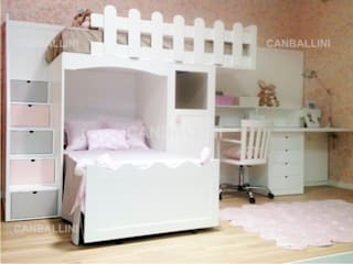 LITERAS INFANTILES: Dormitorios infantiles de estilo moderno de CANBALLINI KIDS