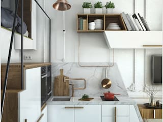 ToTaste.studio Eclectic style kitchen