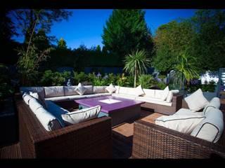 Jardines de estilo  por Cool Gardens Landscaping, Tropical
