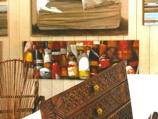 Planche d'inspiration, coin bureau / atelier:  de style  par Nelly Pansier Décoratrice d'Intérieurs
