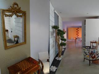 MELANGE DES GENRES: Salon de style  par UN AMOUR DE MAISON