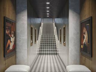 Houndstooth modern patterned carpet LUXEcarpet Walls & flooringWall & floor coverings