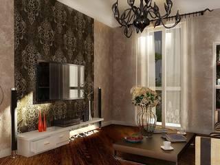 Frazionamento appartamento da 157 mq, trasformati in due unità da 107 e 50 mq. : Case in stile  di GF Studio Design