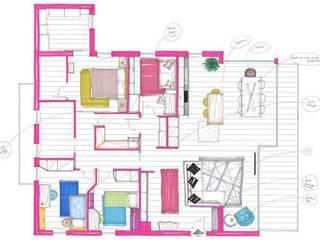 Attico: Case in stile in stile Moderno di GF Studio Design