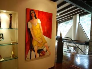 Residenza Provata e Galleria d'arte Case eclettiche di Paolo Gerosa Design Studio Eclettico