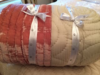 Mulberry Silk and Velvet Quilts:   by Luella Linen