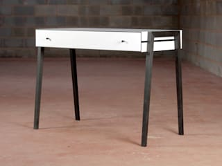 Animate Desk in Bog Oak and Formica Young & Norgate Study/officeDesks
