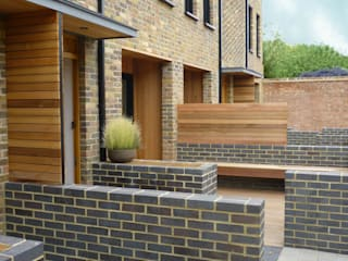 Eden Studios: 7 new houses in west London:  Houses by Studiodare Architects