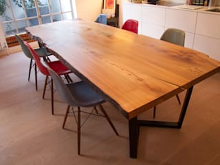 Dining Table - Bespoke Commission: modern  von Young & Norgate,Modern