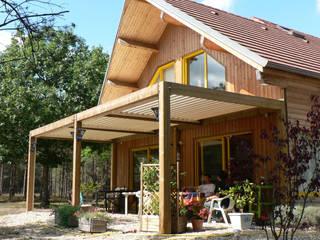 Projekty,  Dach pulpitowy zaprojektowane przez SOLISYSTEME