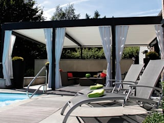 The BIOCLIMATIC Pergola by SOLISYSTEME von SOLISYSTEME Modern