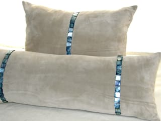 Genuine leather cushions de Miyabi casa