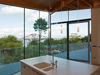 South Queensferry House Extension ZONE Architects Rumah Modern