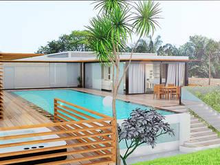 Casas de estilo moderno por LE LAB Design