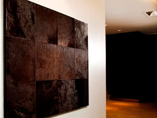 Leather tiles and wall panels Miyabi casa
