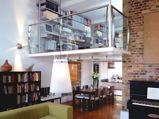 Victorian School Conversion London Casas modernas de STUDIO 9010 Moderno