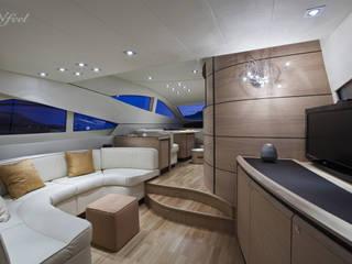 Barco revestido con Infeel:  de estilo  de Elite Diseños