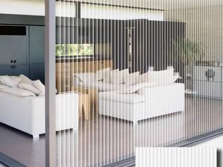 Cristal de salón de estar revestido con POV:  de estilo  de Elite Diseños