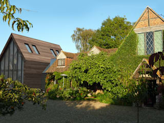Extension to a Listed House Tenterden Kent Casas modernas de STUDIO 9010 Moderno