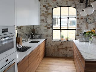 Shoreditch EC1: Warehouse Living:  Kitchen by Increation