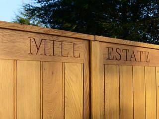 Bespoke Timber Gate:   by Swan Gates