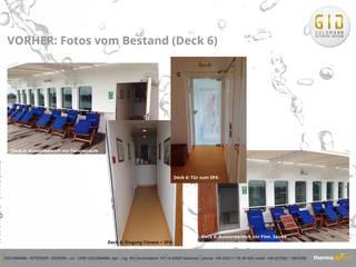 Vorher:  Hotels von GID│GOLDMANN - Innenarchitekt in Sehnde