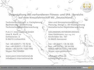 Aufgabe und Adressen:  Hotels von GID│GOLDMANN - Innenarchitekt in Sehnde
