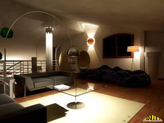 Ausgefallene Wohnzimmer von LANGOLO HOME LIVING Ausgefallen