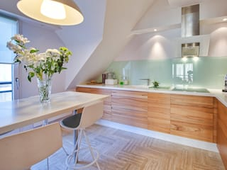 Appartement G Cuisine moderne par Atelier Rémy Giffon Moderne