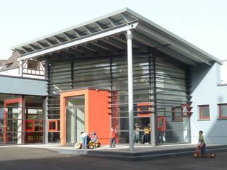 Neubau Mensa + Turnhalle:  Schulen von BERDI ARCHITEKTEN