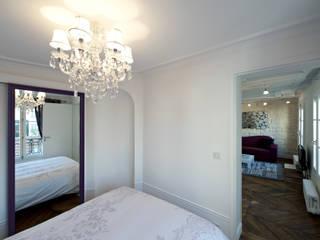 Fables de murs Camera da letto in stile classico