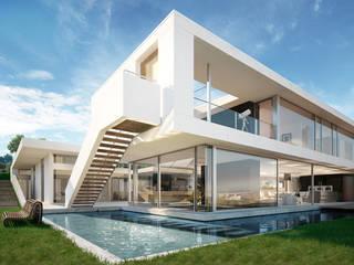 Modern home by Berga&Gonzalez - arquitectura y render Modern