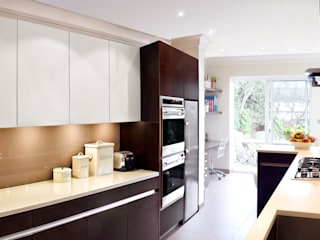 London Townhouse - Golders Green: modern Kitchen by Eliska Design Associates Ltd.