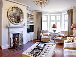 London Apartment - Hampstead:  Living room by Eliska Design Associates Ltd.