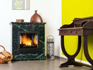 Kaminstudio Klaus Ehrlicher ห้องนั่งเล่นเตาผิงและของตกแต่ง