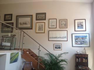 AUDE SWEET HOME Pasillos, vestíbulos y escaleras de estilo moderno