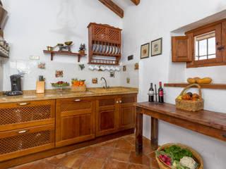 廚房 by Espacios y Luz Fotografía, 田園風