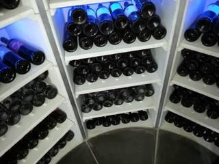 The Circular Cellar Bodegas de vino modernas: Ideas, imágenes y decoración de Stone Cellar Company Moderno