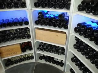The Circular Cellar Moderne wijnkelders van Stone Cellar Company Modern