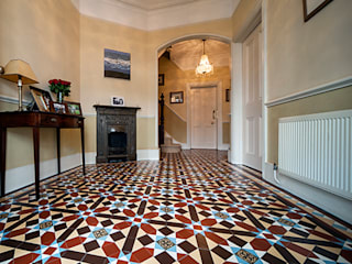 Geometric (Victorian) Tiles:   by Original Features