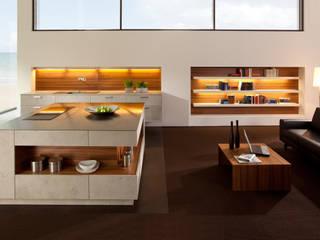 Wohnküche mit imi-beton: modern  von H. Schubert GmbH,Modern
