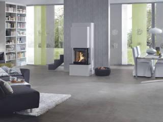 Kleiner Marmorkamin ganz groß: modern  von Hark GmbH & Co. KG,Modern