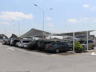 Velarium Shadeports Modern airports