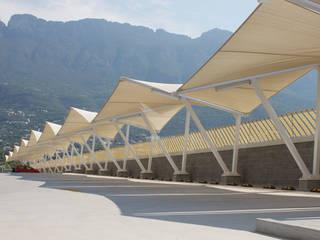 Pusat Perbelanjaan oleh Velarium Shadeports, Modern