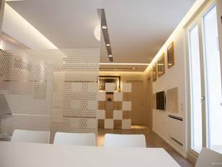 Salon moderne par G/G associati studio di ingegneria e architettura _ing.r.guglielmi_arch.a.grossi Moderne