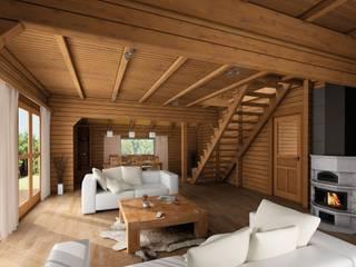 THULE Blockhaus GmbH - Ihr Fertigbausatz für ein Holzhaus Rumah Gaya Skandinavia